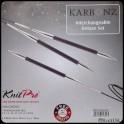 Knitpro Karbonz Deluxe set
