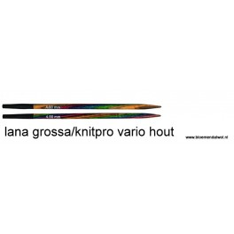 LANA GROSSA/Knitpro Vario Hout verwisselbare naalden