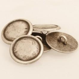529 Metaal 20 mm zilver