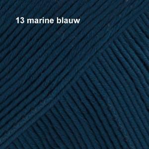 Muskat 13 marine blauw