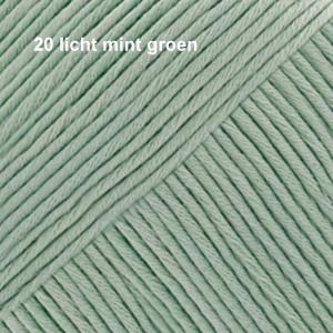 Muskat 20 licht mint groen