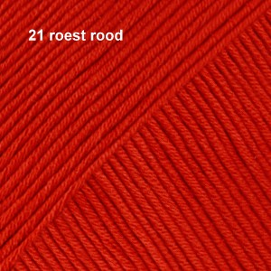 Muskat 21 roest rood