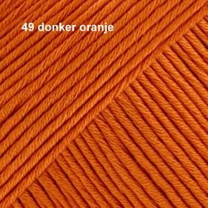 Muskat 49 donker oranje