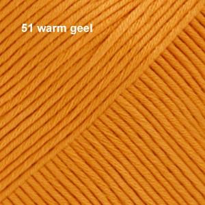 Muskat 51 warm geel