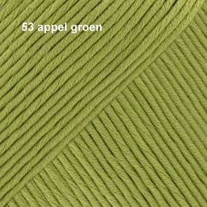 Muskat 53 appel groen