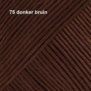 Muskat 75 donker bruin