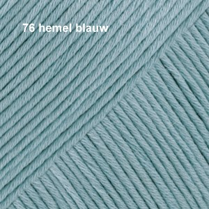 Muskat 76 hemel blauw