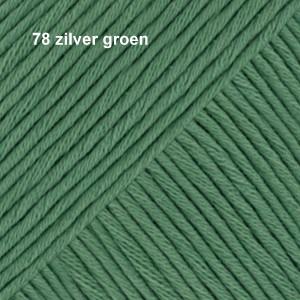 Muskat 78 zilver groen