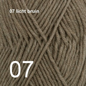 Merino 07 licht bruin mix
