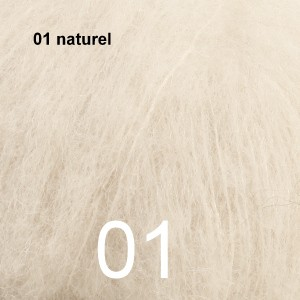 Alpaca Silk 01 naturel