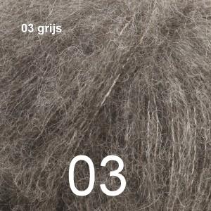 Alpaca Silk 03 grijs