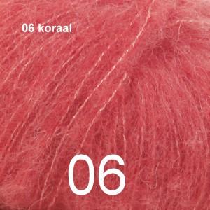 Alpaca Silk 06 koraal