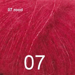 Alpaca Silk 07 rood