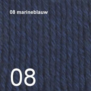Cotton Merino 08 marineblauw