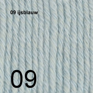 Cotton Merino 09 ijsblauw