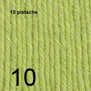Cotton Merino 10 pistache