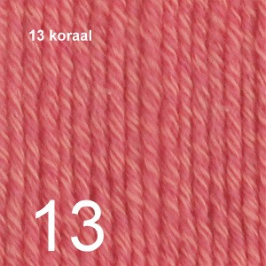 Cotton Merino 13 koraal