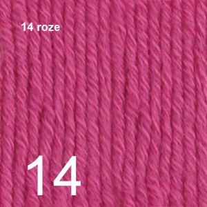 Cotton Merino 14 roze