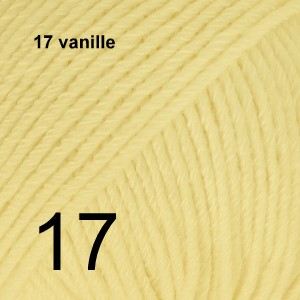 Cotton Merino 17 vanille