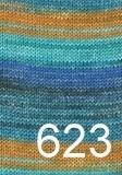 Austermann Step 6 Irish rainbow colours 623
