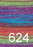 Austermann Step 6 Irish rainbow colours 624