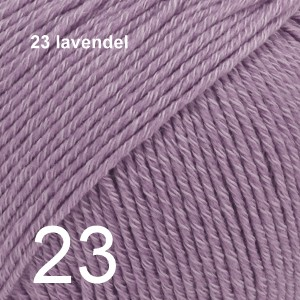 Cotton Merino 23 lavendel