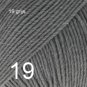 Cotton Merino 19 grijs