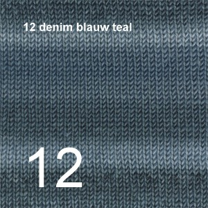 Big Delight 12 denim blauw teal