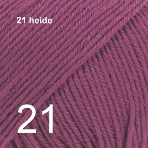Cotton Merino 21 heide