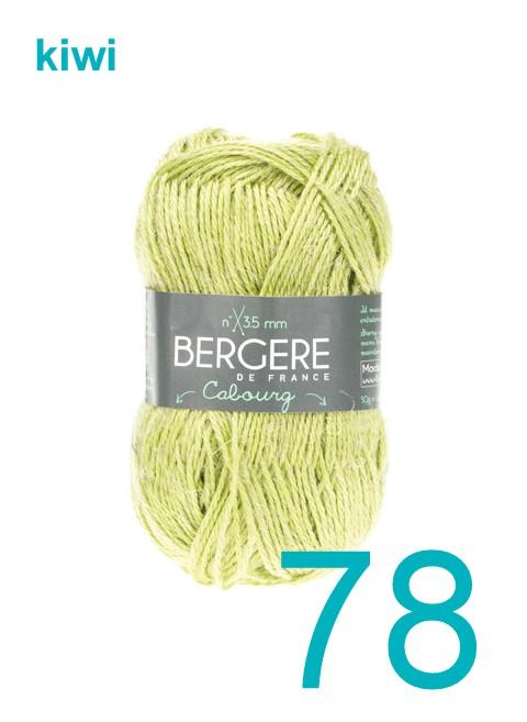 Bergere Cabourg kiwi 78