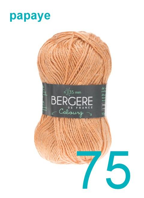 Bergere Cabourg papaye 75