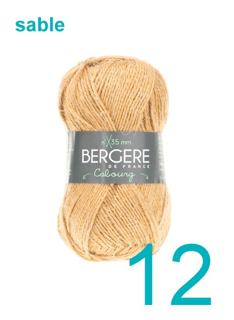 Bergere Cabourg sable 12