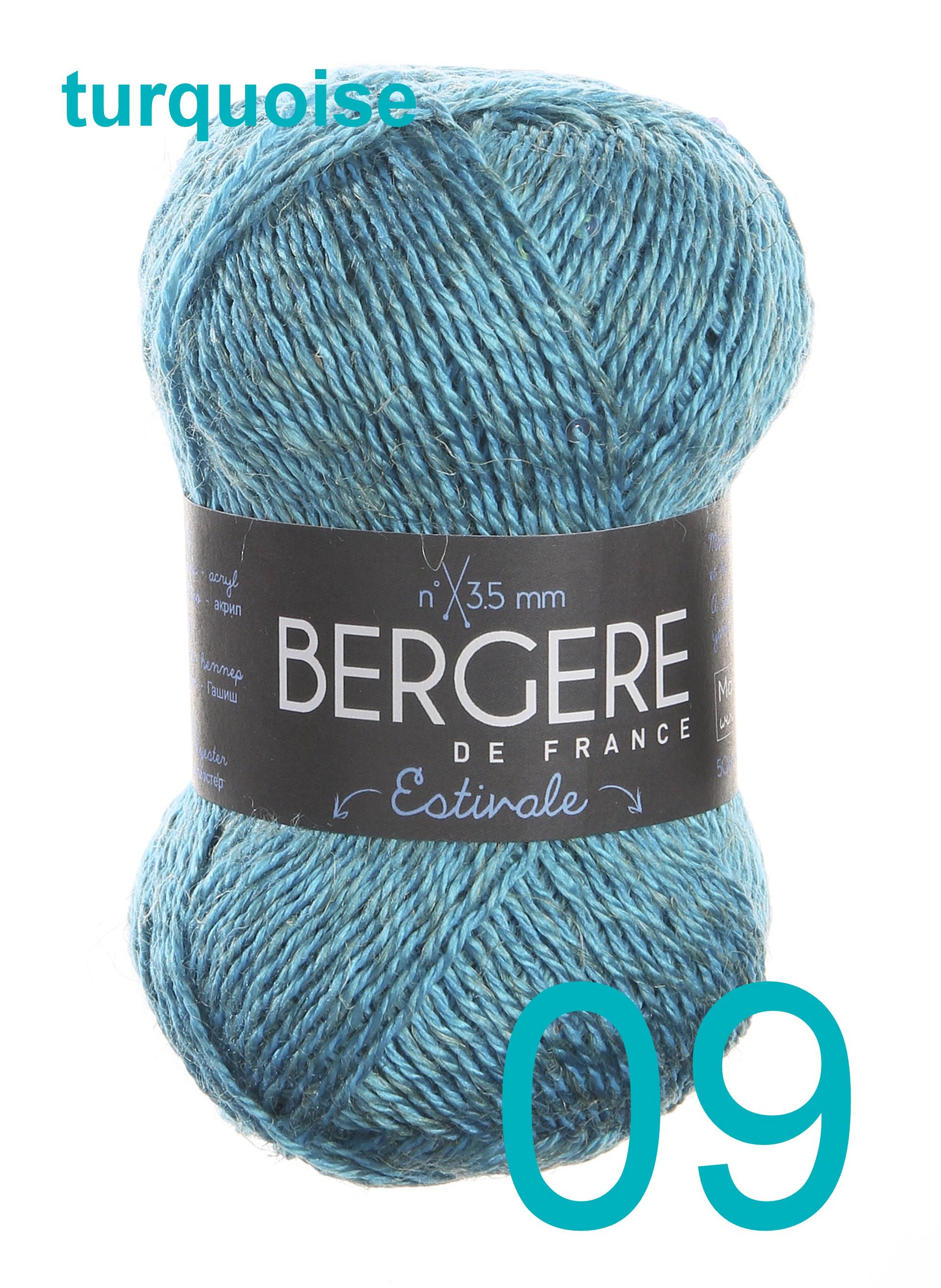 Bergere Estivale turquoise 09