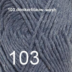 Paris 103 donkerblauw wash