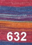 Austermann Step 6 Irish rainbow colours 632
