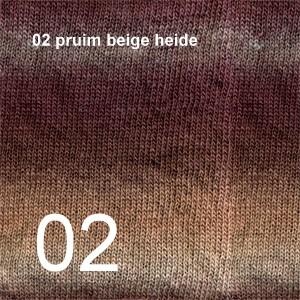 Delight 02 pruim beige heide