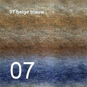 Delight 07 beige blauw