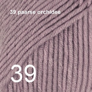 Baby Merino 39 paarse orchidee
