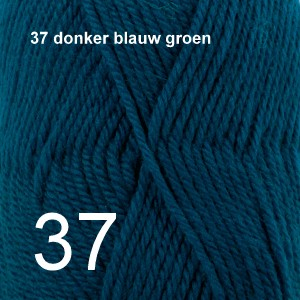 Karisma 37 donker blauw groen