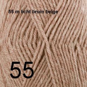 Karisma 55 m licht bruin beige