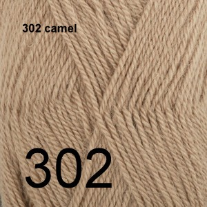 Alpaca Uni Colour 302 camel