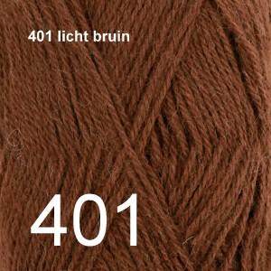 Alpaca Uni Colour 401 licht bruin