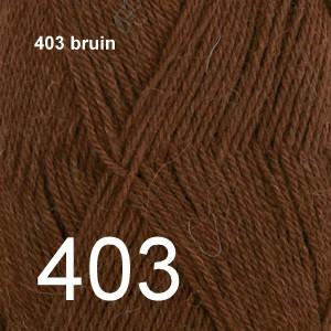 Alpaca Uni Colour 403 bruin