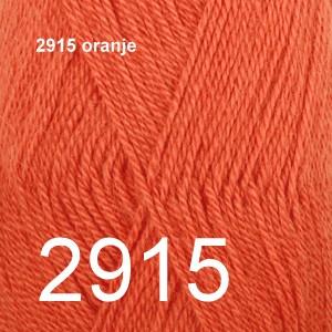 Alpaca Uni Colour 2915 oranje