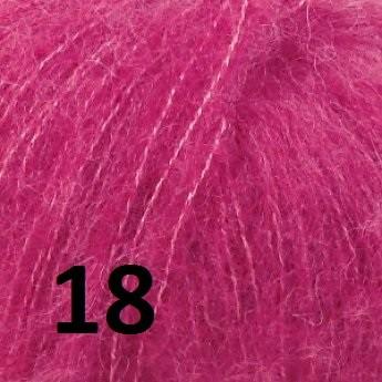 Alpaca silk 18 Cerise