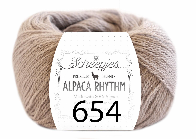 Scheepjes- Alpaca Rhythm 654 Robotic