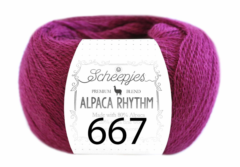 Scheepjes- Alpaca Rhythm 667 Jitterbug