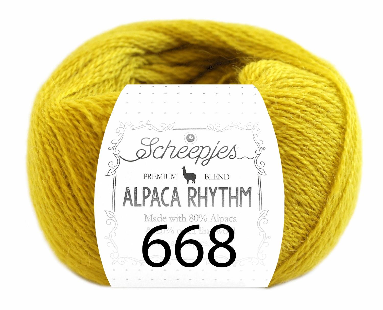 Scheepjes- Alpaca Rhythm 668 Disco