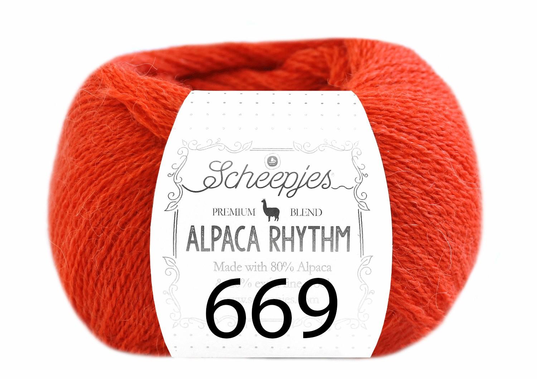 Scheepjes- Alpaca Rhythm 669 Cha Cha