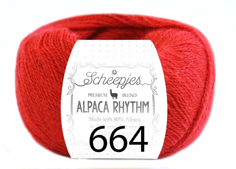 Scheepjes- Alpaca Rhythm 664 Flamenco